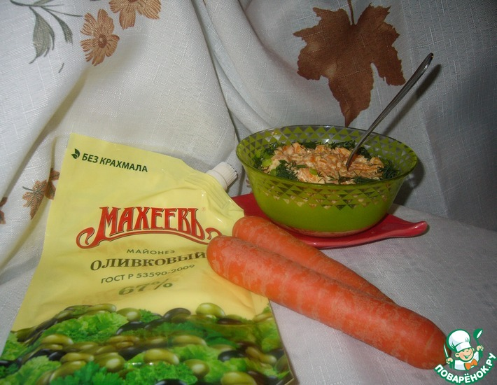 Майонезно-овощная намазка-соус