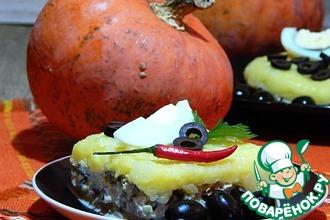 Кауса, или вкусная картофельная закуска с тунцом