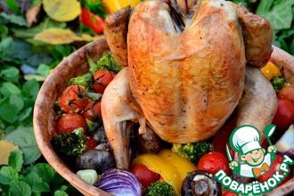 Цыпленок с овощами «по-Махеевски»