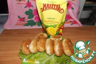 Пирожки на майонезном тесте