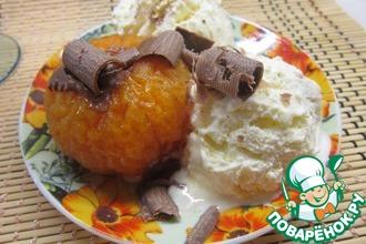 Мандариновый десерт