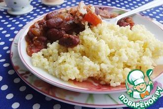 Томатный соус с фасолью