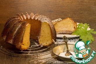 Масляный кекс с ароматом герани