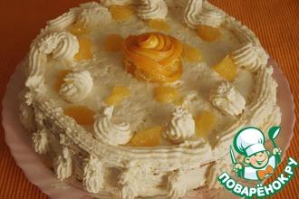 """Морковно-апельсиновый пирог-торт """"Рыжий львенок"""""""