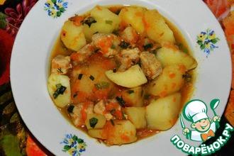 """Картошка с мясом """"Традиционная"""""""
