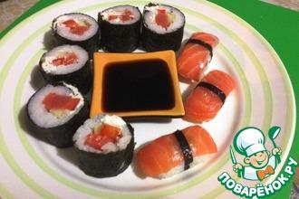 Нигири суши и роллы своими руками