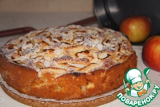 Яблочный пирог от бабушки Эммы