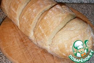Молочный ситный хлеб на закваске