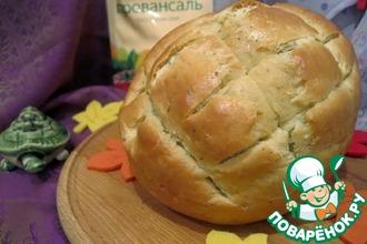 """Хлеб по мотивам """"Ла тартаруга"""""""