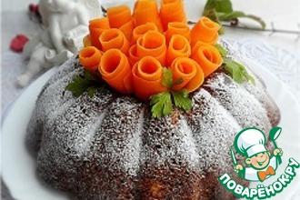 Морковно-ореховый кекс