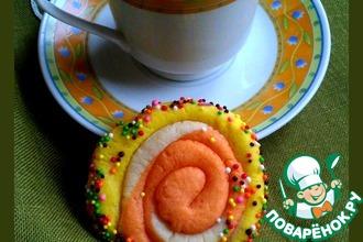 Печенье цветное