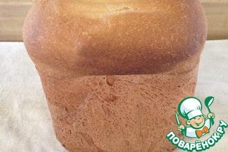 Простой хлеб в хлебопечке или в духовке