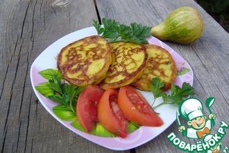 Оладушки тыквенно-картофельные