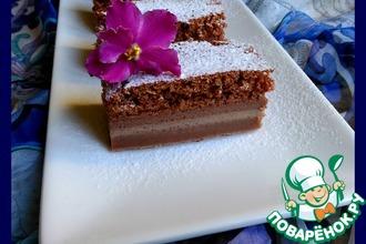 Магическое пирожное шоколадное