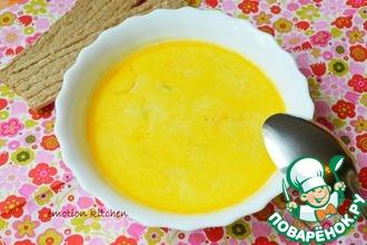 Сливочный суп с речной форелью