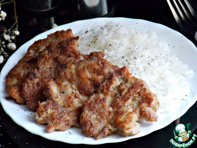 Все оно готово. Мясо получается очень мягкое и сочное. Можно подавать с рисом.