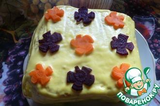 Закусочный хлебный торт