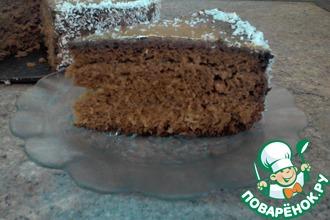 Медово-бисквитный торт