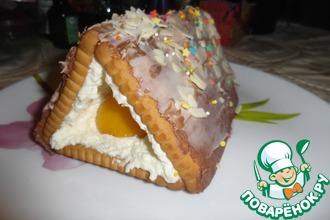 """Торт """"Шалаш Деда Мороза"""""""