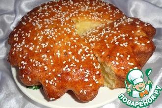 Творожный кекс с медовым ароматом и рисовыми хлопьями