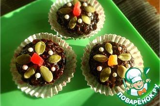 Шоколадно-геркулесовые конфеты