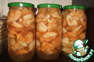 Медовые яблоки