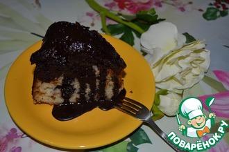 """Творожно-шоколадный кекс """"Вспоминая Лебу"""""""