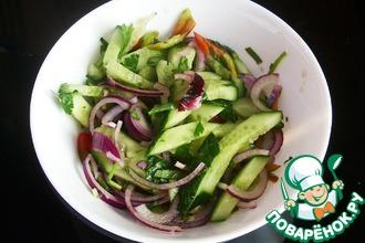 Салат из огурцов по-тайски