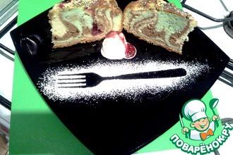 Радужный пирог с яблоками от д. Юры