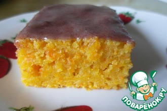 """Морковный кекс """"Оранжевое настроение"""""""