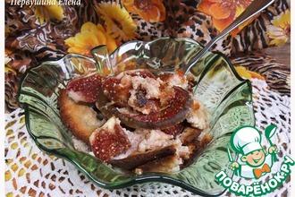 Творожный завтрак с инжиром