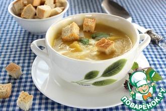 Суп-пюре из тыквы и груши