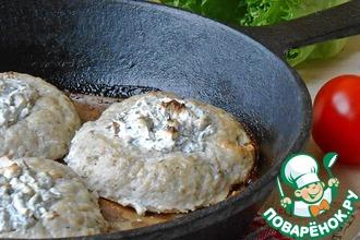 Рыбные ватрушки с фетой