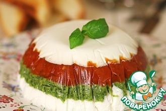 Закусочный торт в итальянском стиле