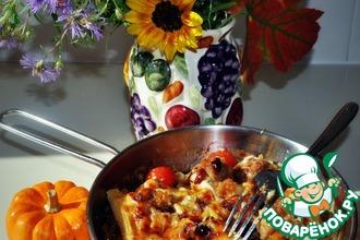 Мясные фрикадельки под апельсиново-клюквенным соусом
