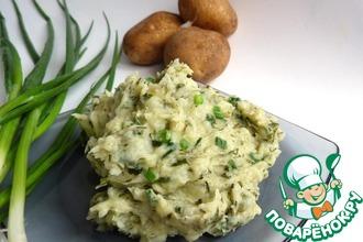 Картофельное пюре по ирландски (или Колкэннон)
