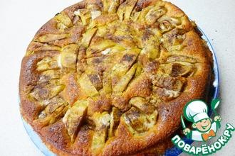 """Пирог """"Румяные яблочки"""""""