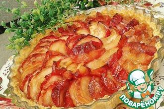 Нормандский яблочный пирог