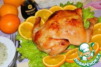 Курица в соево-апельсиновом соусе