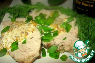 Мускатно-имбирная свинина во французском соусе