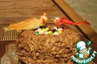 """Торт """"Гнездо сказочных птиц"""""""