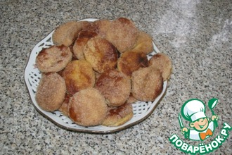 Мраморное сахарное печенье