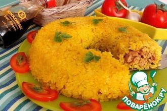 Рисовый рулет с горбушей