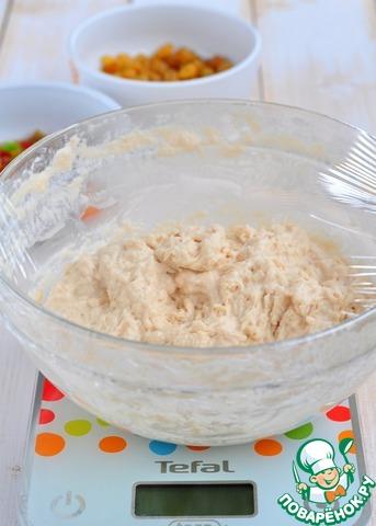 Накрыть пищевой пленкой, замотать в махровое полотенце, отправить в теплое место на 30 минут.