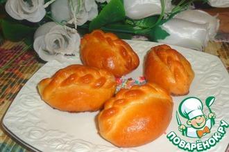 Булочки с грушами и грецкими орехами