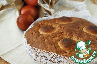 """Португальский пасхальный хлеб """"Фолар"""""""