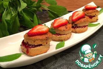 Быстрые французские булочки с сушеными ягодами