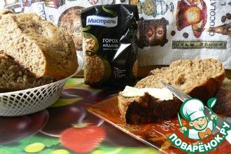 Гороховый десертный хлеб