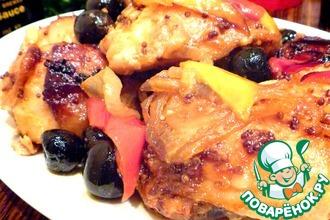 Курица с овощами по-испански