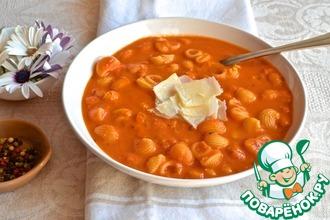 Тосканский фасолевый суп с розмарином